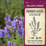 Hyssop Herb Seeds (500mg) - My Patriot Supply