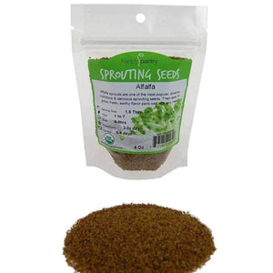 Organic Alfalfa Sprouting Seeds (4 ounces) - My Patriot Supply