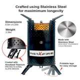 Instafire Inferno Outdoor Biomass Stove - My Patriot Supply