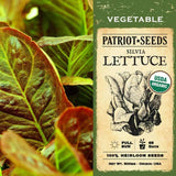 Organic Silvia - Romaine Lettuce Seeds (500mg) - My Patriot Supply