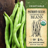Organic Contender Bush Beans (20g) - My Patriot Supply
