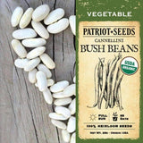 Organic Cannellini Bush Beans (28g) - My Patriot Supply