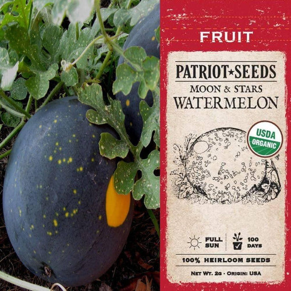 Organic Moon & Stars Watermelon Seeds (2g)