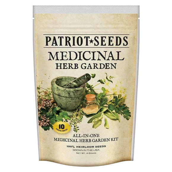Medicinal Herb Garden Seed Kit (10 packets inside) - My Patriot Supply