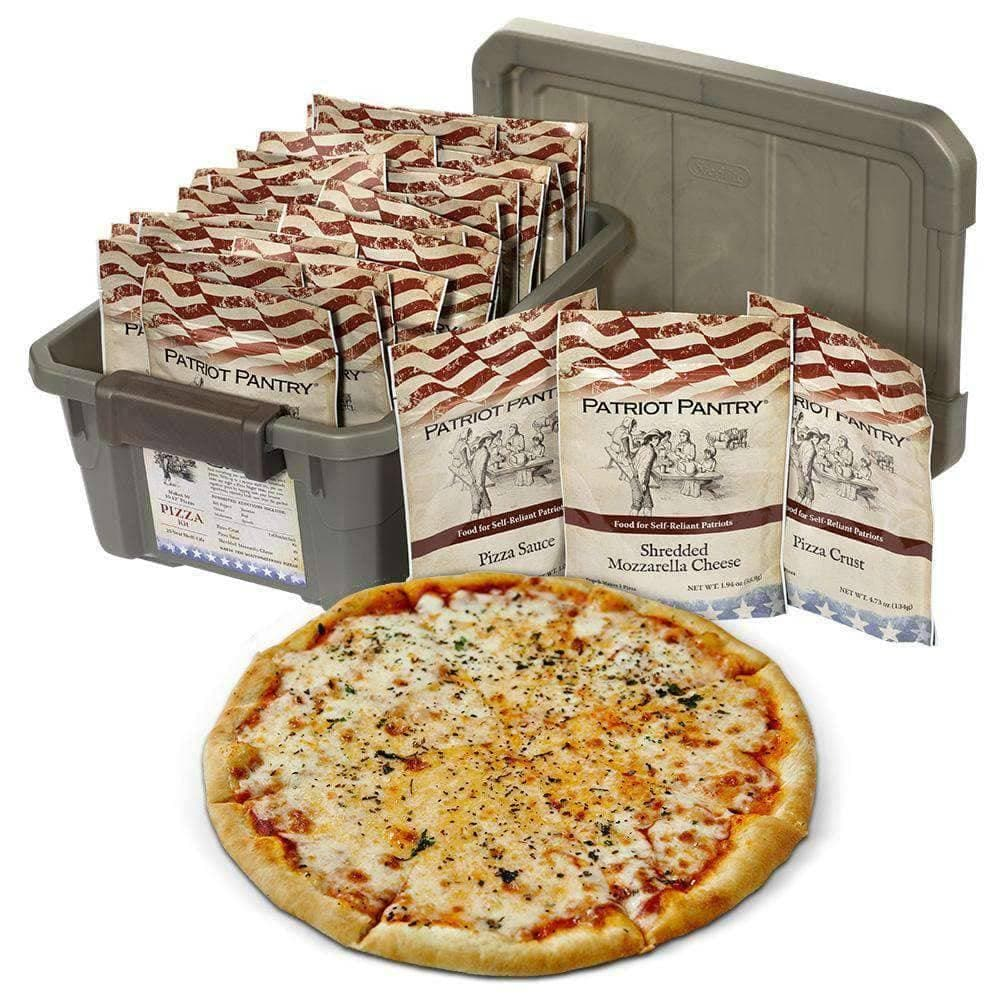 Ten Pack Survival Pizza Making Kits