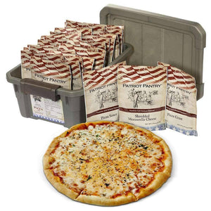 Survival Pizza Kit - Family Size (1 tote) - My Patriot Supply