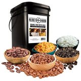 Beans Trio & Rice Kit  (100 servings, 14 pk.) - My Patriot Supply