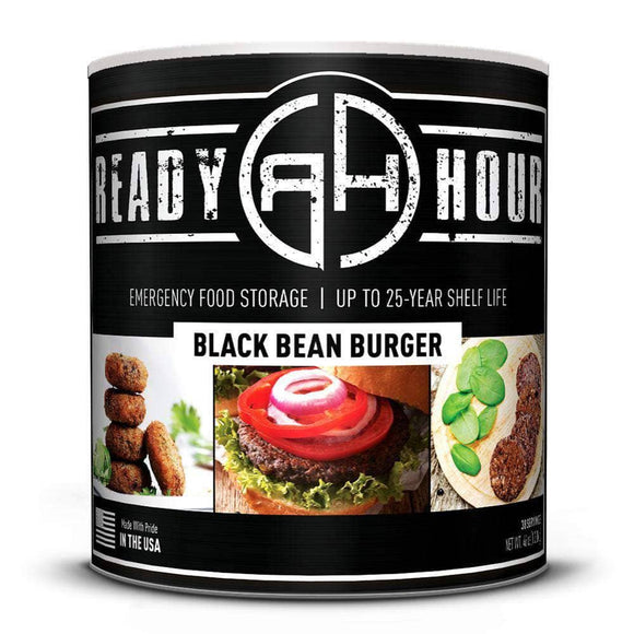 Black Bean Burger (38 servings) - My Patriot Supply