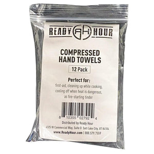 Compressed Disposable Hand Towels (12 pack)