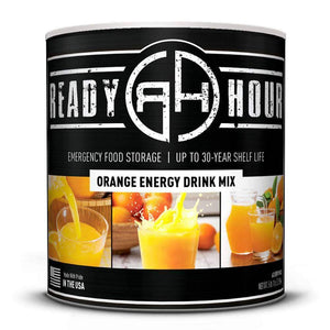 Orange Energy Drink Mix  (63 servings) - My Patriot Supply