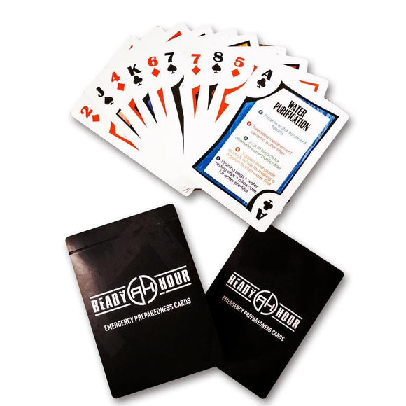 Ready Hour Preparedness Playing Cards - My Patriot Supply
