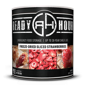 Freeze-Dried Sliced Strawberries (36 servings) - My Patriot Supply