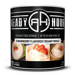 Strawberry Flavored Creamy Wheat (47 servings) - My Patriot Supply