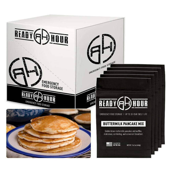 Buttermilk Pancake Mix Case Pack (50 servings, 5 pk.) - My Patriot Supply