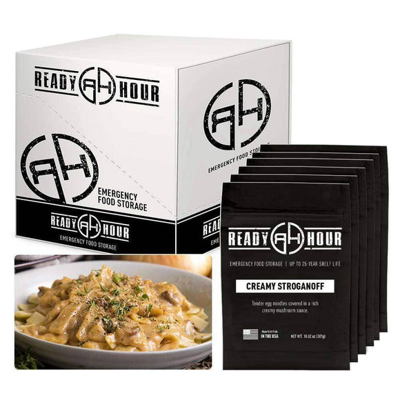 Creamy Stroganoff Case Pack (24 servings, 6 pk.)