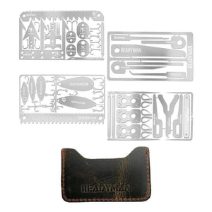 Readyman Total Survival Kit (67 tools, 4 cards)