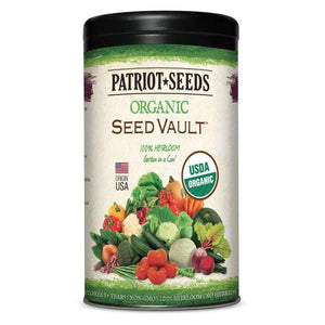 Organic Survival Seed Vault - My Patriot Supply
