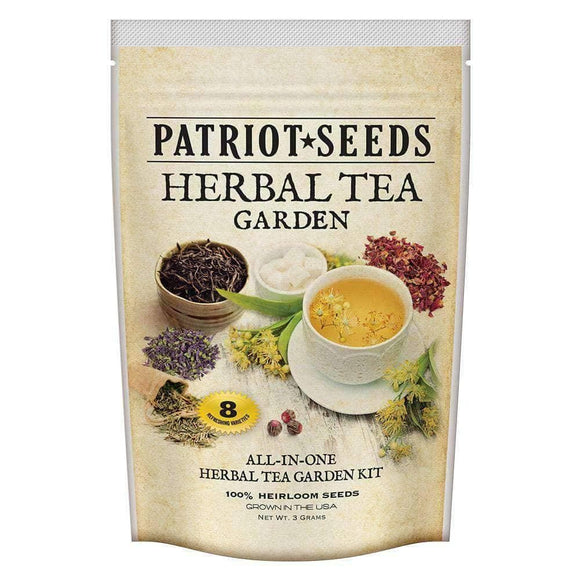 Herbal Tea Garden Seed Kit (8 packets inside) - My Patriot Supply