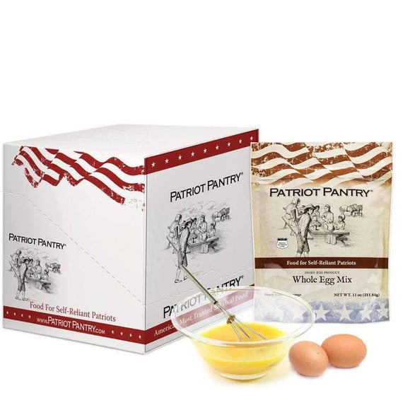 Whole Eggs Case Pack (144 servings, 6 pk.)