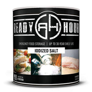Iodized Salt (1,965 servings) - My Patriot Supply