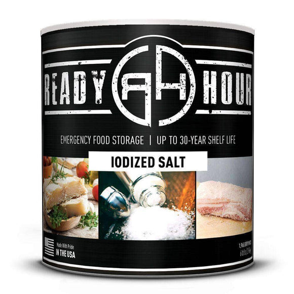 Iodized Salt - My Patriot Supply