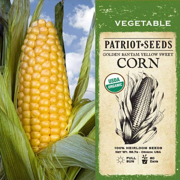 Golden Bantam - Yellow Sweet Corn Kernels (56g) - My Patriot Supply