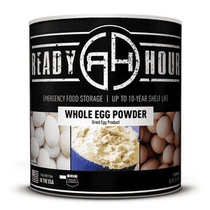 Whole Egg Powder (72 servings) - My Patriot Supply