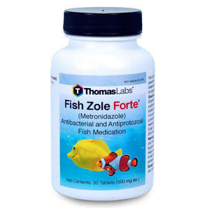 Fish Zole Forte - Metronidazole - 500mg 30 count - My Patriot Supply