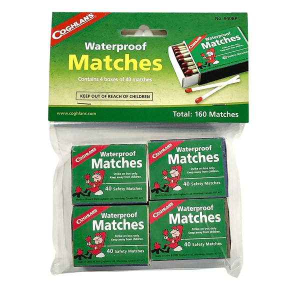 Waterproof Matches (4-pack) - My Patriot Supply