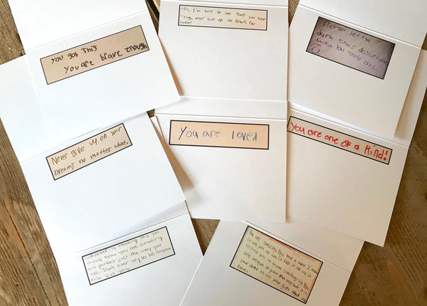 Notes of Encouragement Notecards