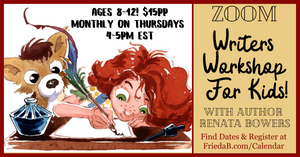 "Writers Workshop For Kids! ""The Story in You"": 4-5PM EST"