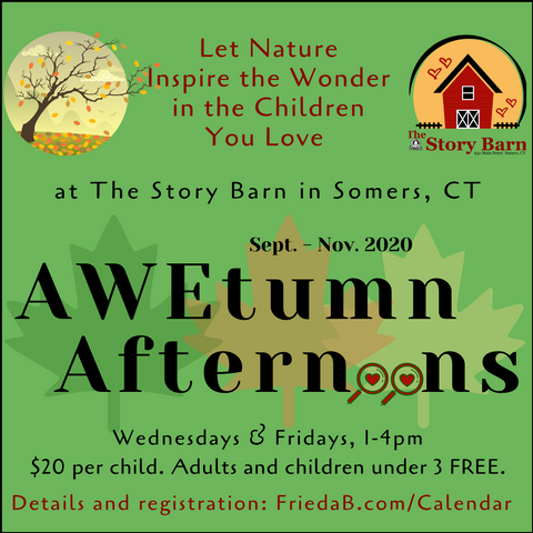 "AWEtumn Afternoons Week Four: ""Create a Centerpiece"" Nov. 13, 1-4pm"