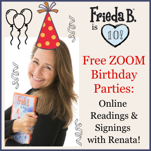ZOOM Birthday Party with Renata! Nov. 21 @ 1pm EST