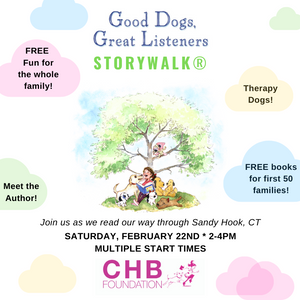 """Good Dogs, Great Listeners"" StoryWalk in Sandy Hook: 2-4pm"