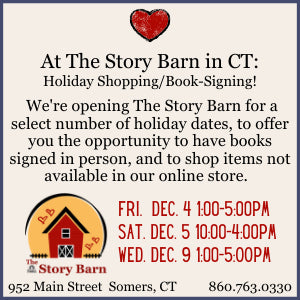 Holiday Shopping/Book Signing at The Story Barn! 1-5PM