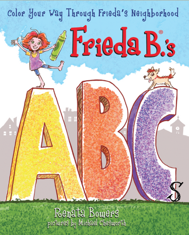 New! Frieda B.'s ABCs Story & Coloring Book_School Store