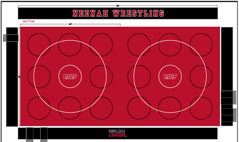 Wrestling Room- Design Floor and Wall Mats