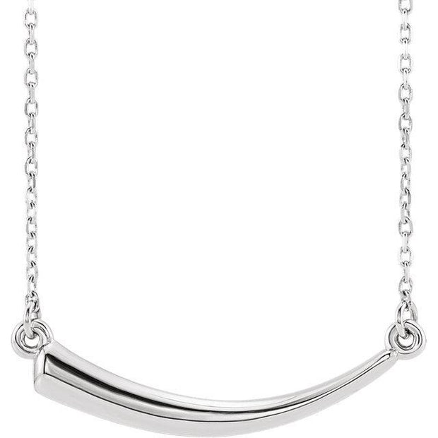 Giacobbe & Company 14k White Gold 14K White, Yellow, or Rose Gold Horn Necklace
