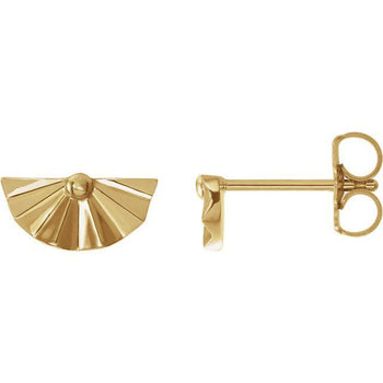Giacobbe & Company 14k Yellow Gold 14K White, Yellow, or Rose Gold Geometric Earrings