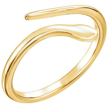 Giacobbe & Company 14k Yellow Gold 14K White, Yellow, or Rose Gold Snake Ring