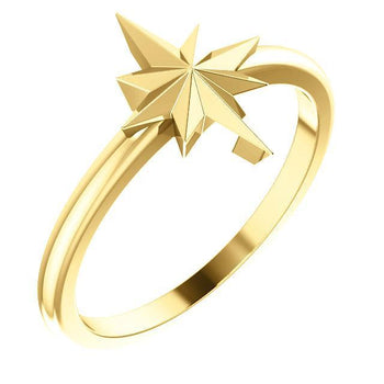 Giacobbe & Company 14k Yellow Gold 14K White, Yellow, or Rose Gold Starburst Ring