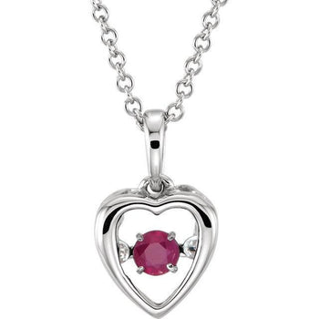 "Giacobbe & Company 14kt White Ruby 18"" Mystara® Necklace"