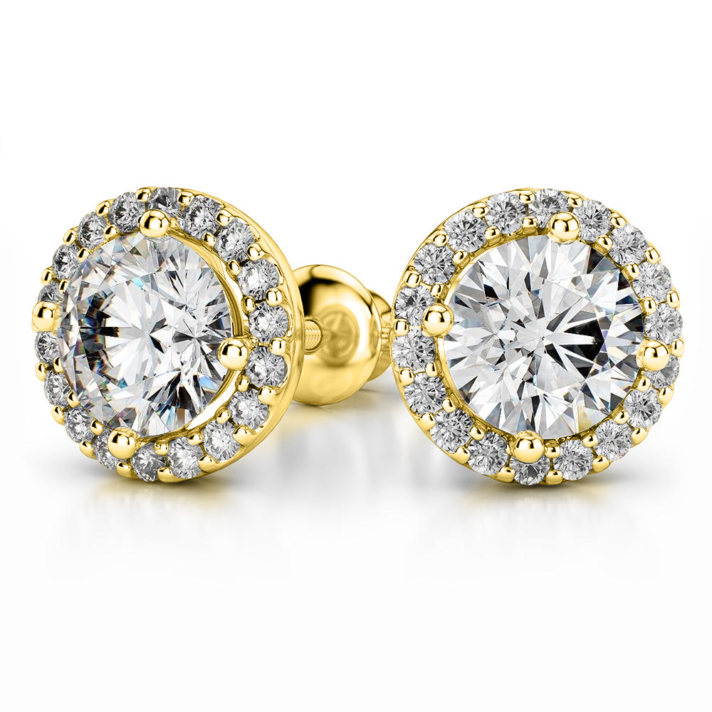 8e680c54521 ... Giacobbe   Company Yellow Gold 18K WHITE GOLD ROUND 1.25 CTW VS2-SI1  G-H SCREW ...