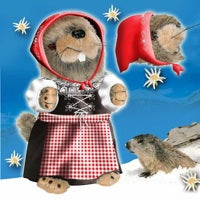 Yodelling, Singing, Dancing Alpine Marmots