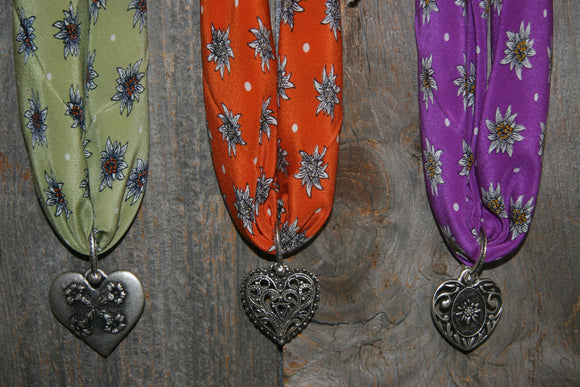 Swiss Edelweiss Scarves & Scarf Ornaments