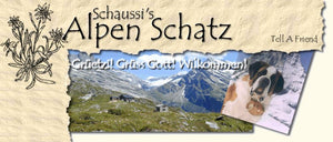 Alpen Schatz, translated Alpine Treasures, aims to bring you the magical traditions of the Alps directly to your home. We offer exclusive alpine handicrafts created by the original craftsmen hidden away in the heart of the Swiss,, Austrian & Italian Alps.