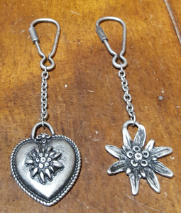 Alpine Pewter Key Ring