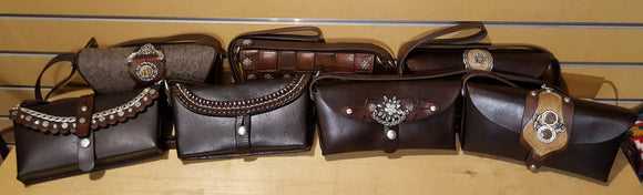 Mini Antique Swiss Military Handbags