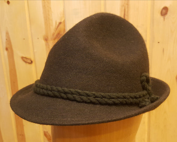 Tyrolean Alpine Hat (Traditional Hunting Hat)