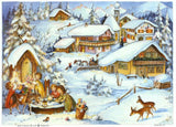 Medium Traditional German Advent Calendars - Old World Villages & Nature